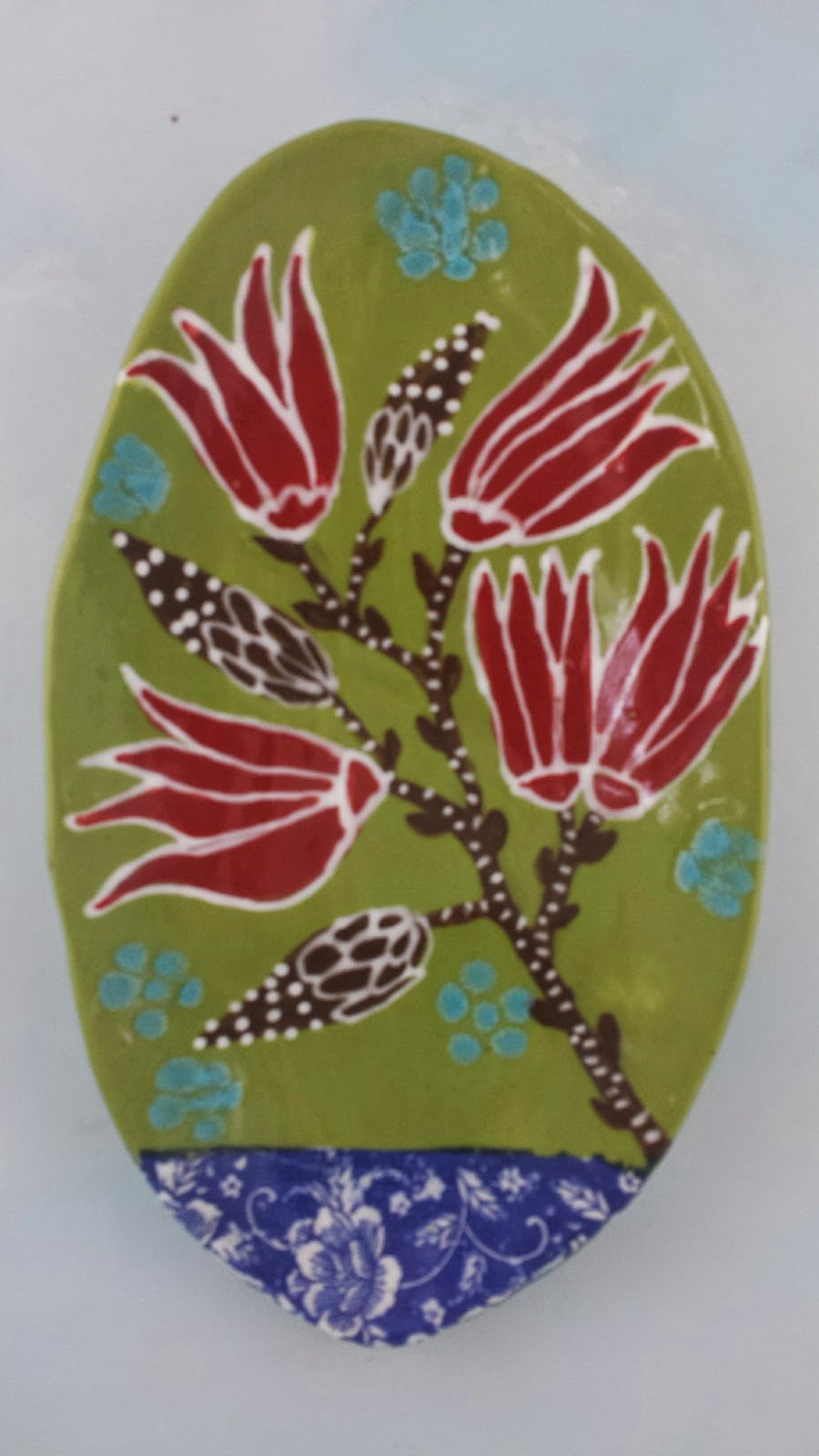 Cathy Kiffney, ceramic platter