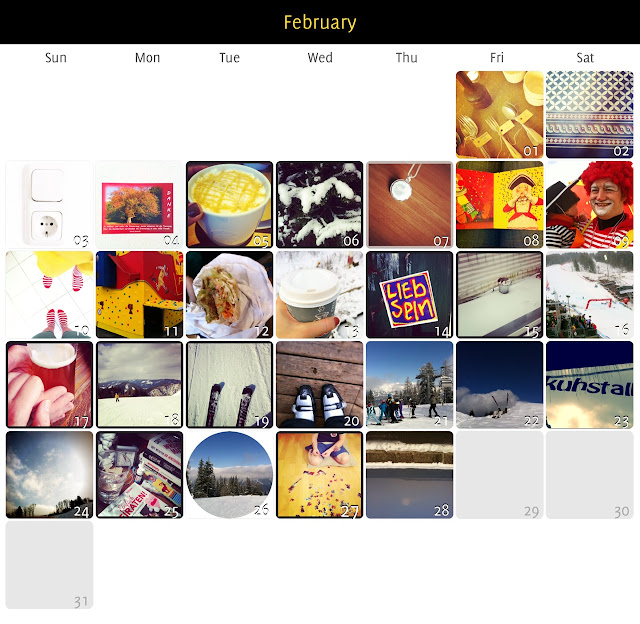 My Feb Photos a day