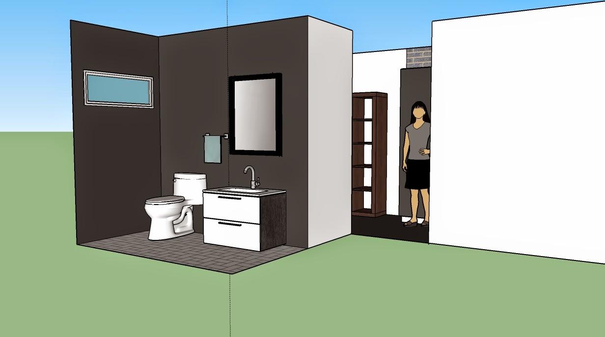 wc, 3D