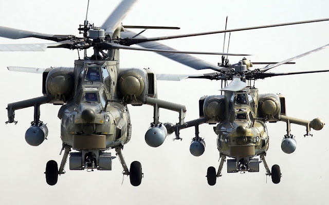MI 28N Helicopters