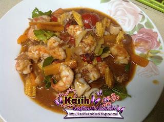 Resepi,Seafood,Paprik Seafood,Kasih,Lestari,Abadi
