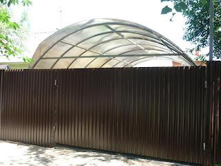 Забор из профлиста. Фото 8