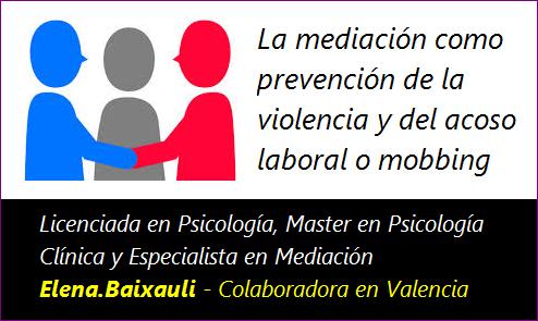 MobbingMadrid La mediación como prevención de la violencia y del acoso laboral o mobbing
