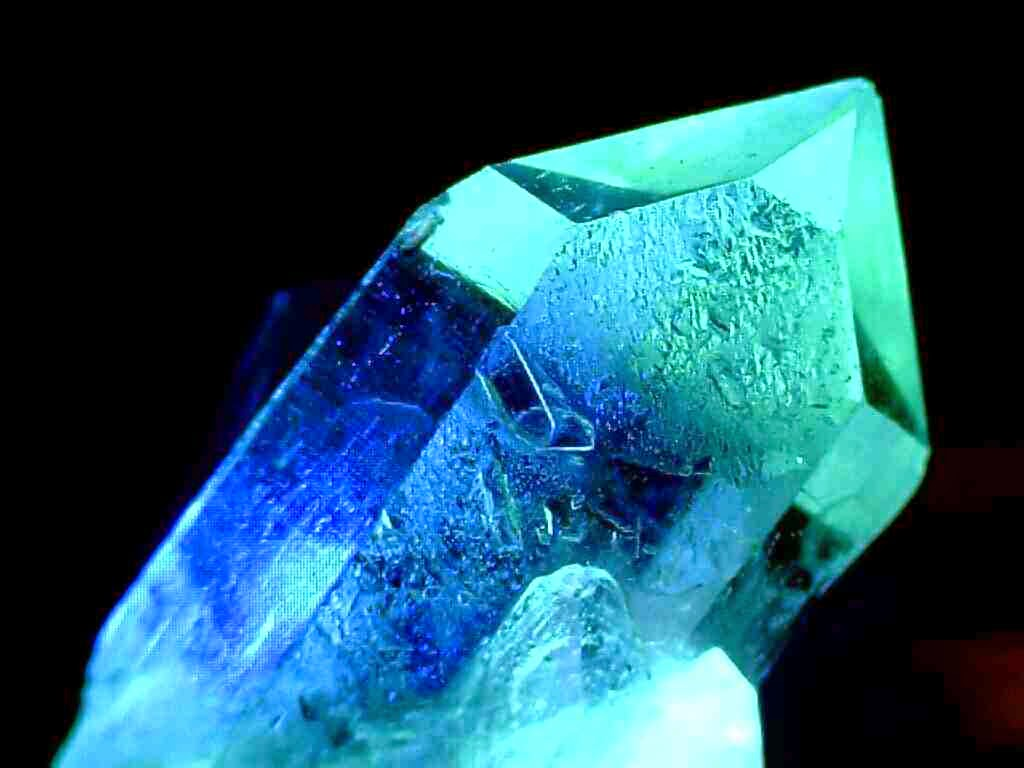 Glowing crystal