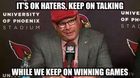 It's ok haters, keep on talking while we keep on winning games