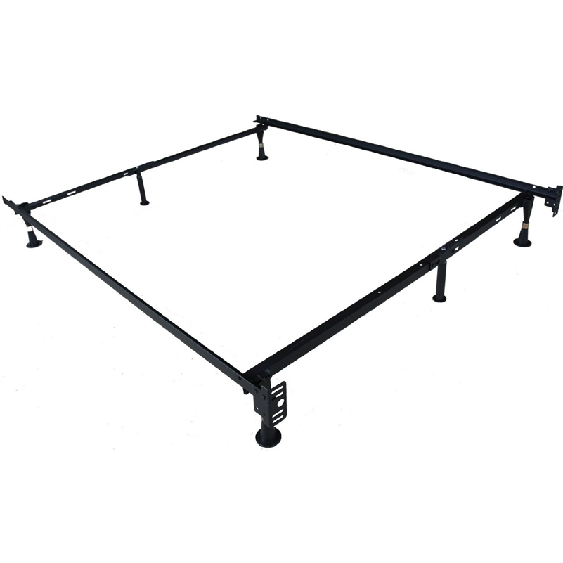 Adjustable Twin Full Size Metal Bed