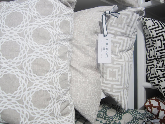 Nbaynadamas Naturals linen pillow coversat the New York International Gift Fair