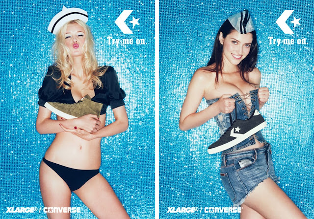 Converse Japan x XLarge Capsule Sneaker Kollektion Lookbook