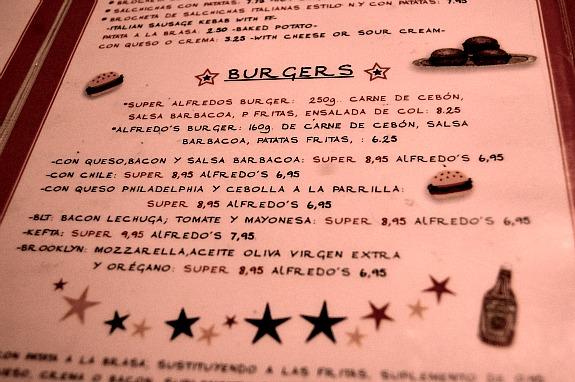 hamburguesas alfredos barbacoa