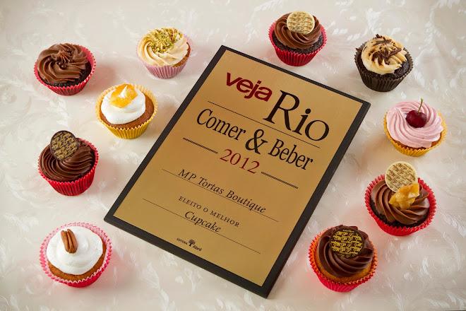 Eleito Melhor Cupcake em 2012 pela Veja Rio