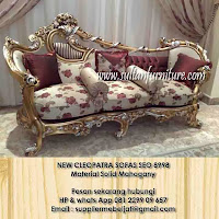 Jual NEW CLEOPATRA Klasik SOfa ukir Furniture Jepara Style Modern Klasik French Indonesia Furniture Ukir Jepara