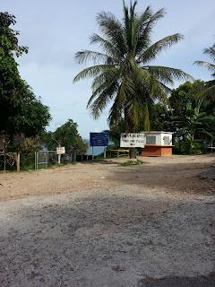 Road between Kamala and Surin