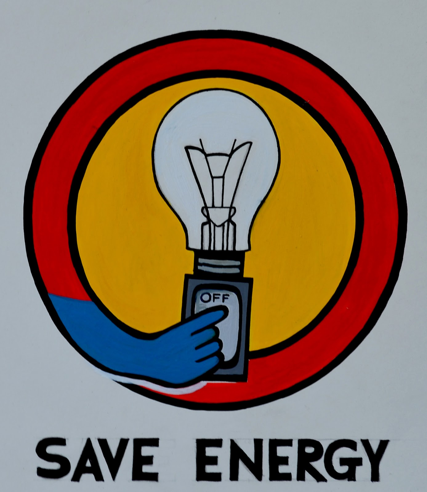Suvarna sable paintings logo designed by artist suvarna for Save energy painting