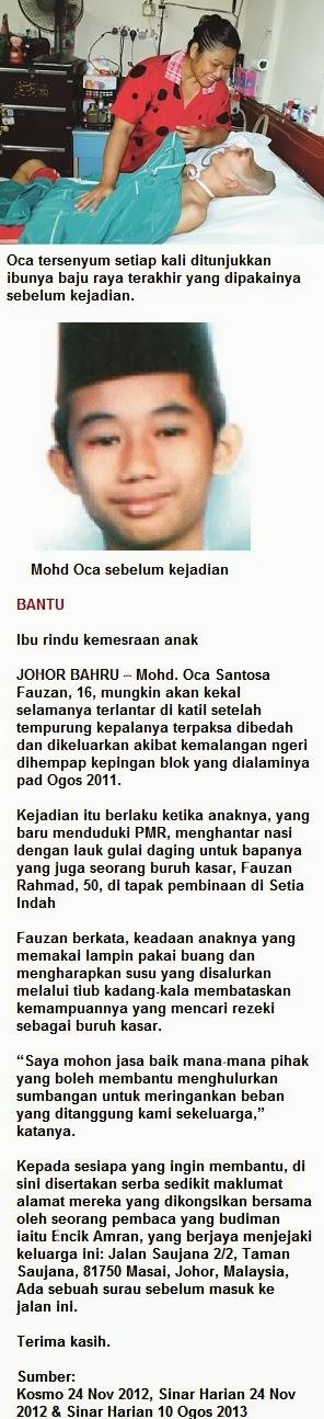 Bantu Mohd Oca