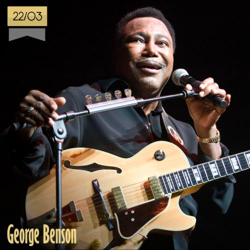 22 de marzo | George Benson - @GBguitar | Info + vídeos