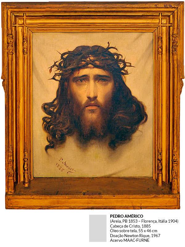 Pedro Américo - Cabeça de Cristo
