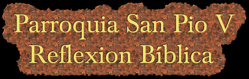 REFLEXION BIBLICA