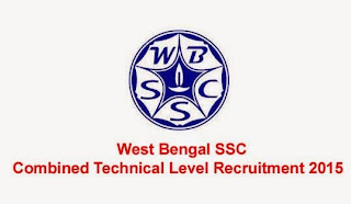 West Bengal SSC Combined Technical Level Recruitment 2015