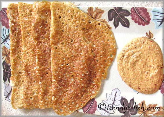 Peppered Wheat Dosa