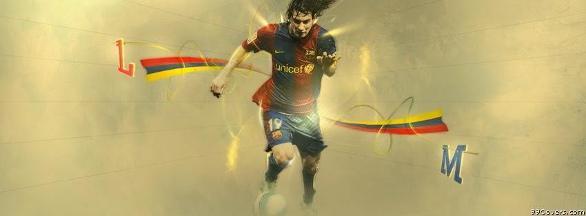 gambar kronologi facebook keren soccer player