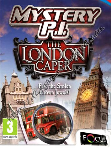 Free Download Games - Mystery PI The London Caper