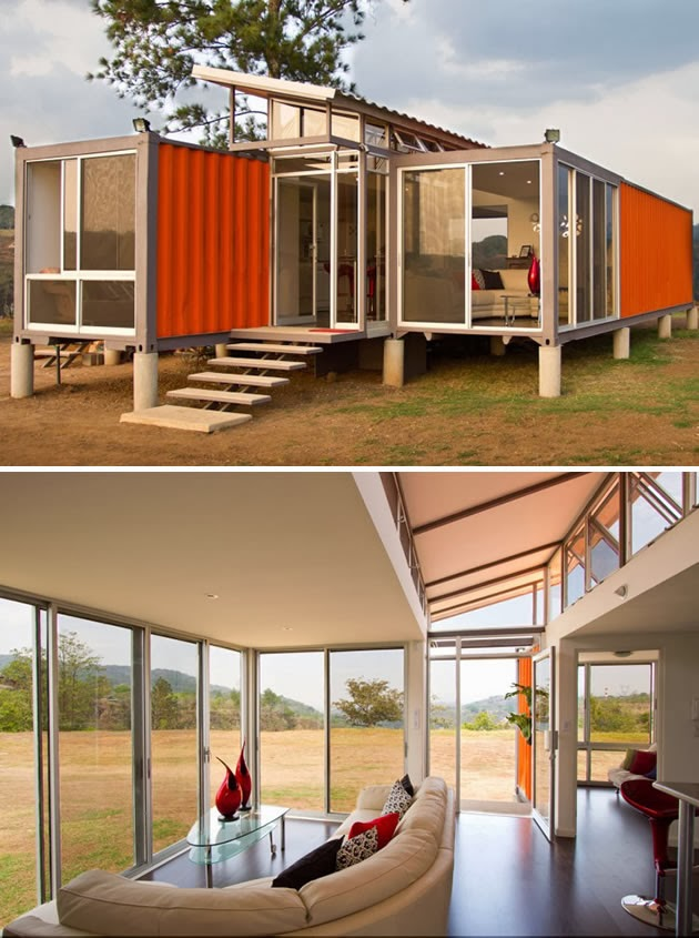90 miles from tyranny 15 shipping containers turned into designer homes - Designer shipping container homes ...