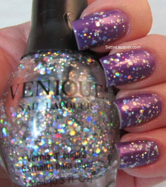 Venique San Tro Play with Venique Twinkling Glitter top coat