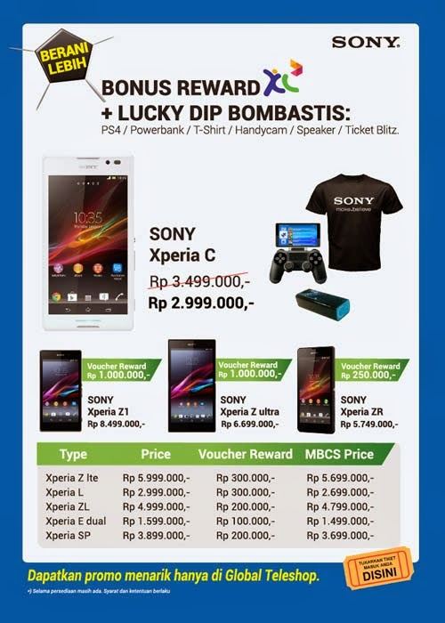Global Teleshop Promo Sony Xperia di MBC 2014