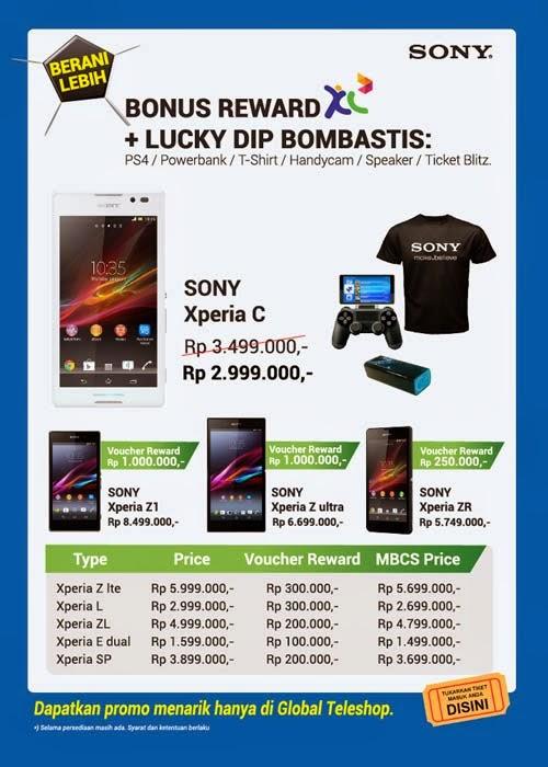 Global Teleshop Promo Sony Xperia di MBC 2014
