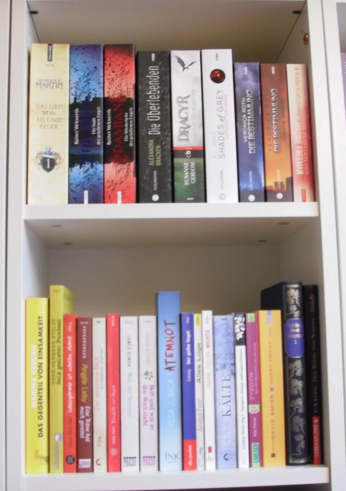 Bücherreihe regal  Bücherblog ~ Dragonfly: Meine Bücher