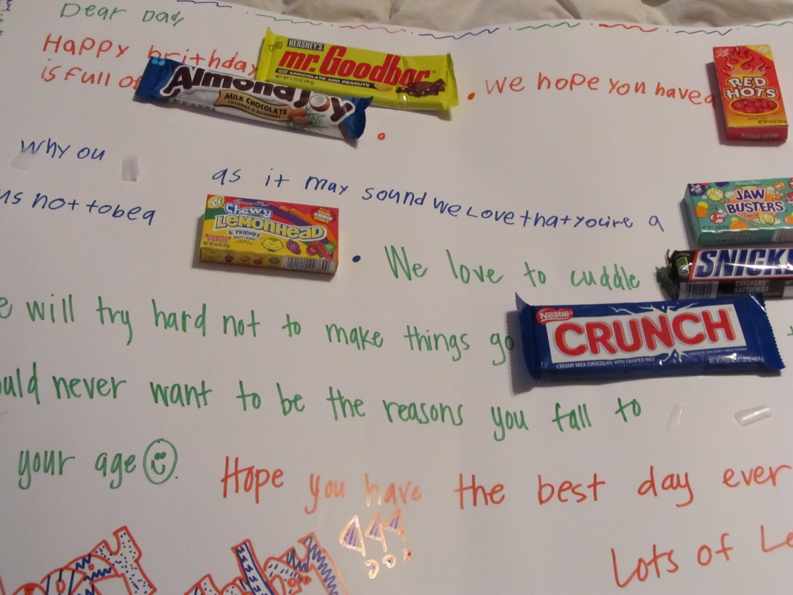 Birthday Sayings With Candy Bars: Clever candy sayings for almost ...