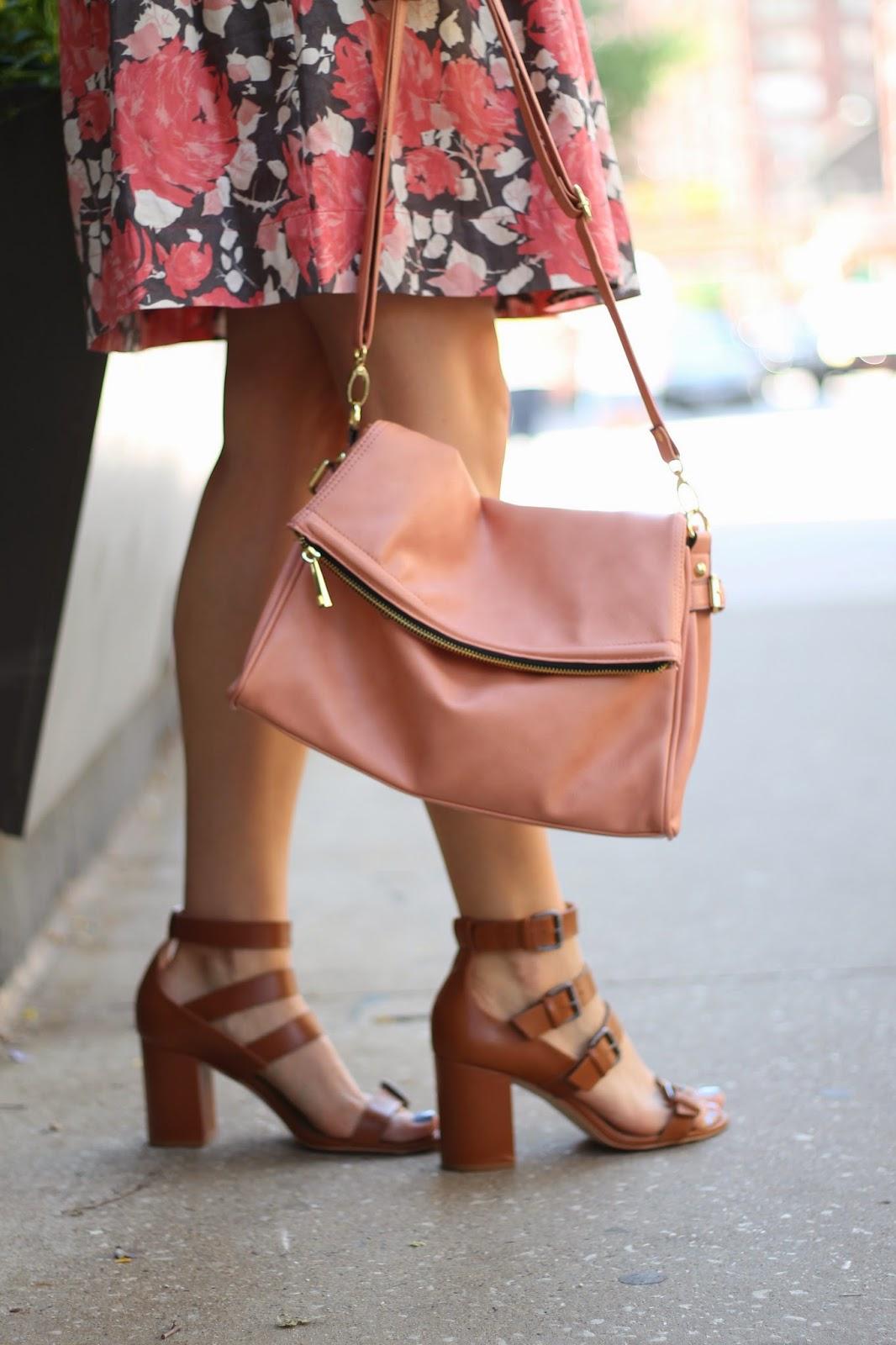 dsw, blush, handbag