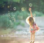 dos burbujas de jabón... ♥