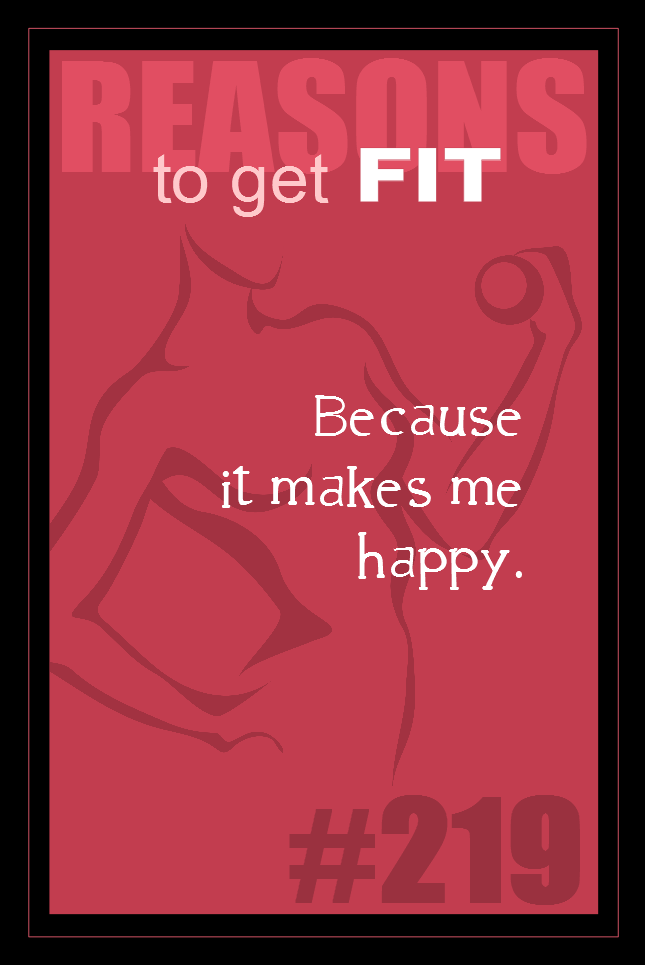 365 Reasons to Get Fit #219