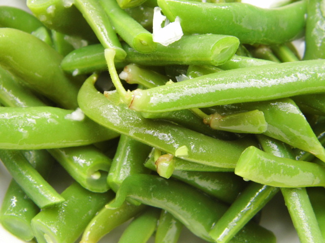 how to prepare fresh cut green beans