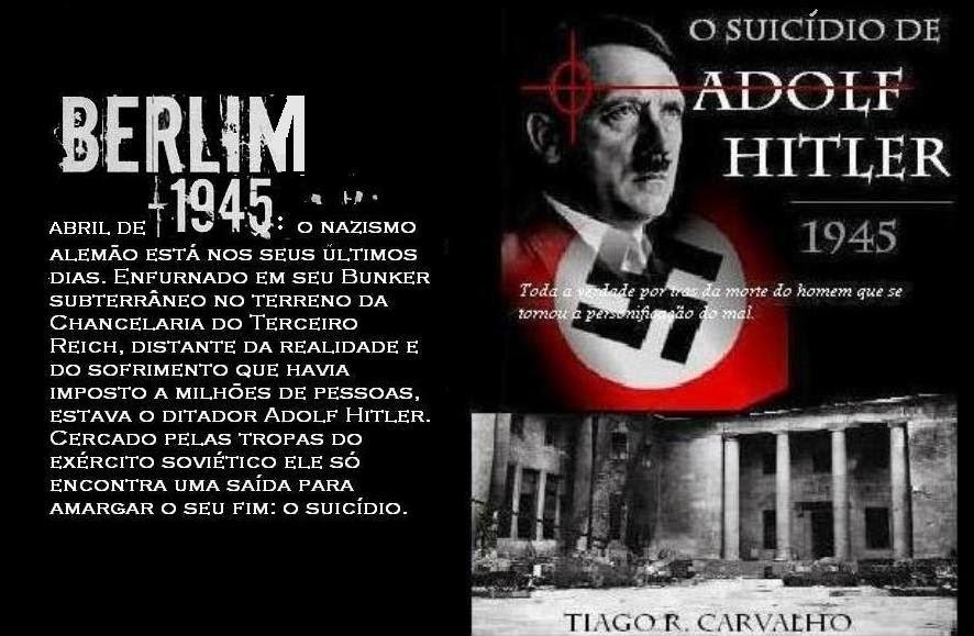 O SUICÍDIO DE ADOLF HITLER 1945