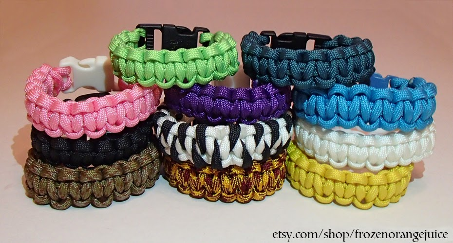 paracord bracelet colors