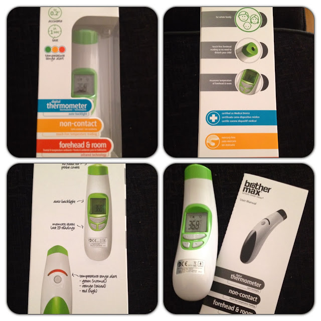borthermax non contact thermometer