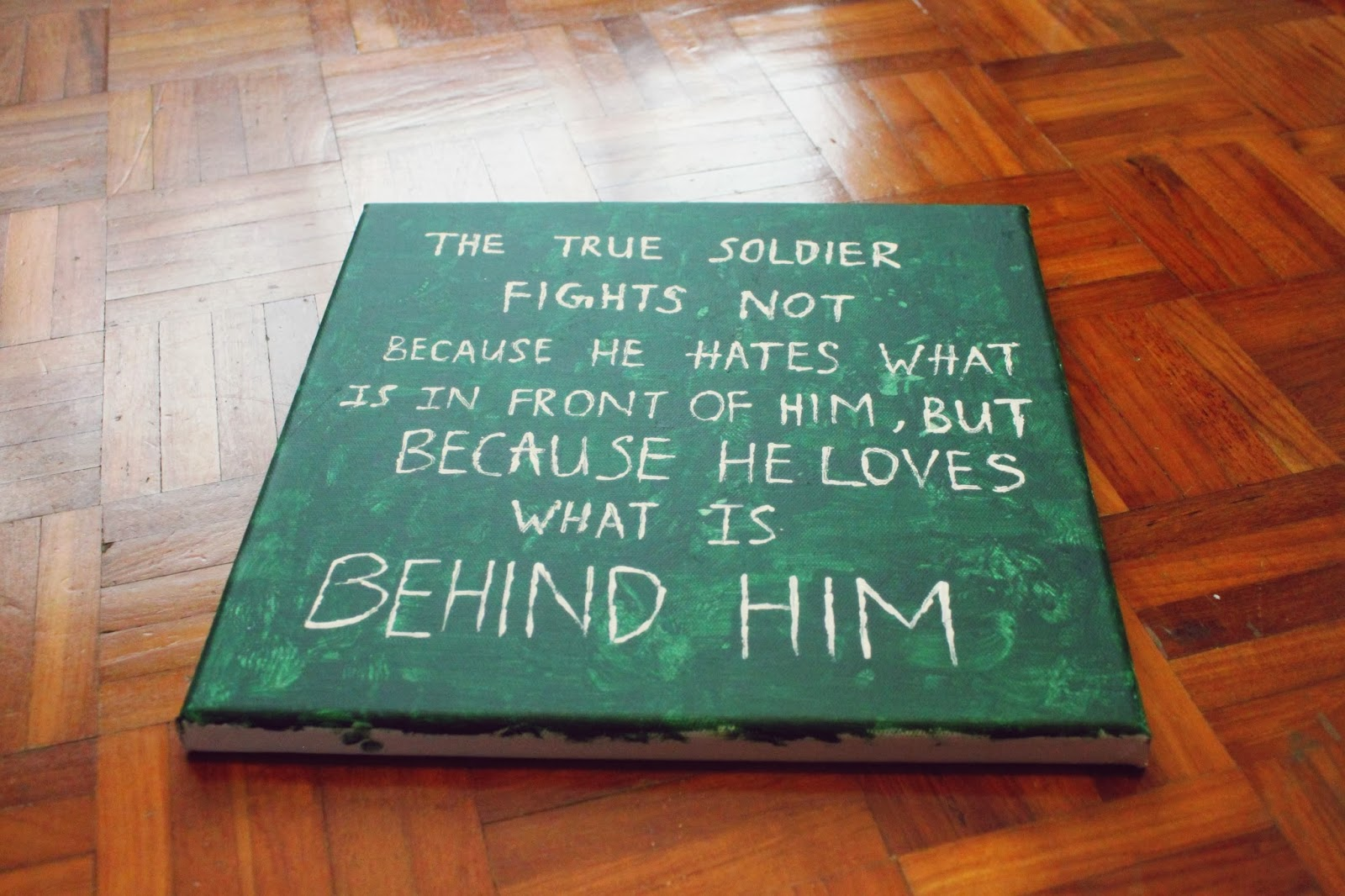 Girly Canvas Painting Ideas Part - 17: Gift Idea: Handmade Canvas Quote-Drawing