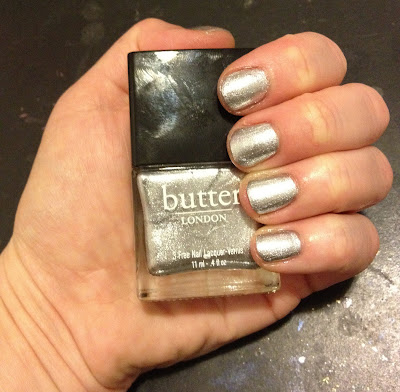 butter LONDON, butter LONDON nail polish, butter LONDON nail lacquer, butter LONDON Diamond Geezer, nail, nails, nail polish, polish, lacquer, nail lacquer, mani, manicure, mani of the week, manicure of the week, butter LONDON mani, butter LONDON manicure