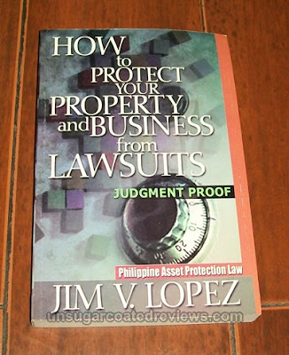 How to Protect Your Property and Business from Lawsuits book by Jim Lopez