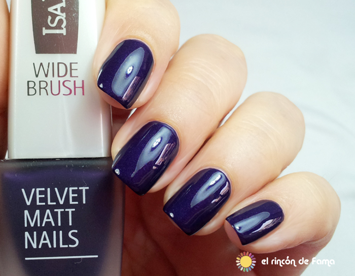 Velvet Matt Nails Nº823 - Grape Royal | el rincon de fama