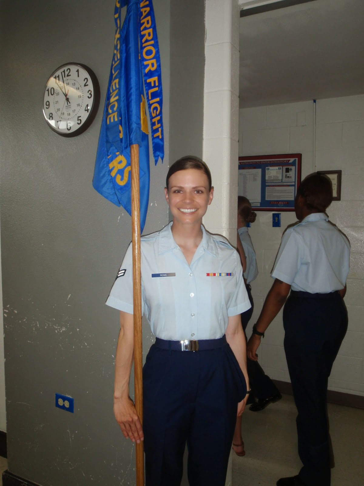 Air Force Basic Military Training Guideon Bearer