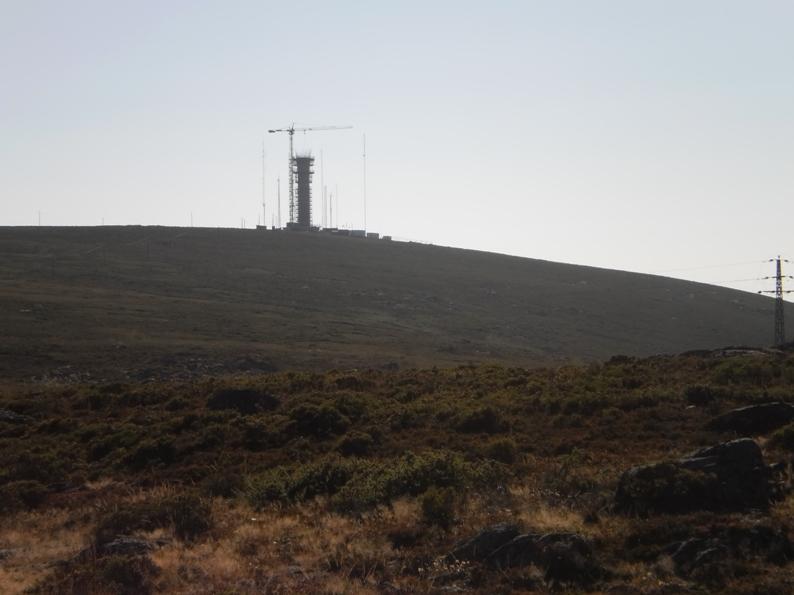 Radar meteorológico da Serra da Freita