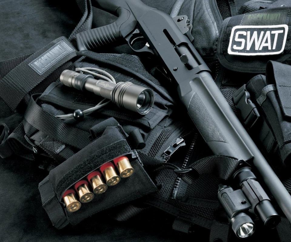Weapon Guns Wallpaper: Swat Police Weapon