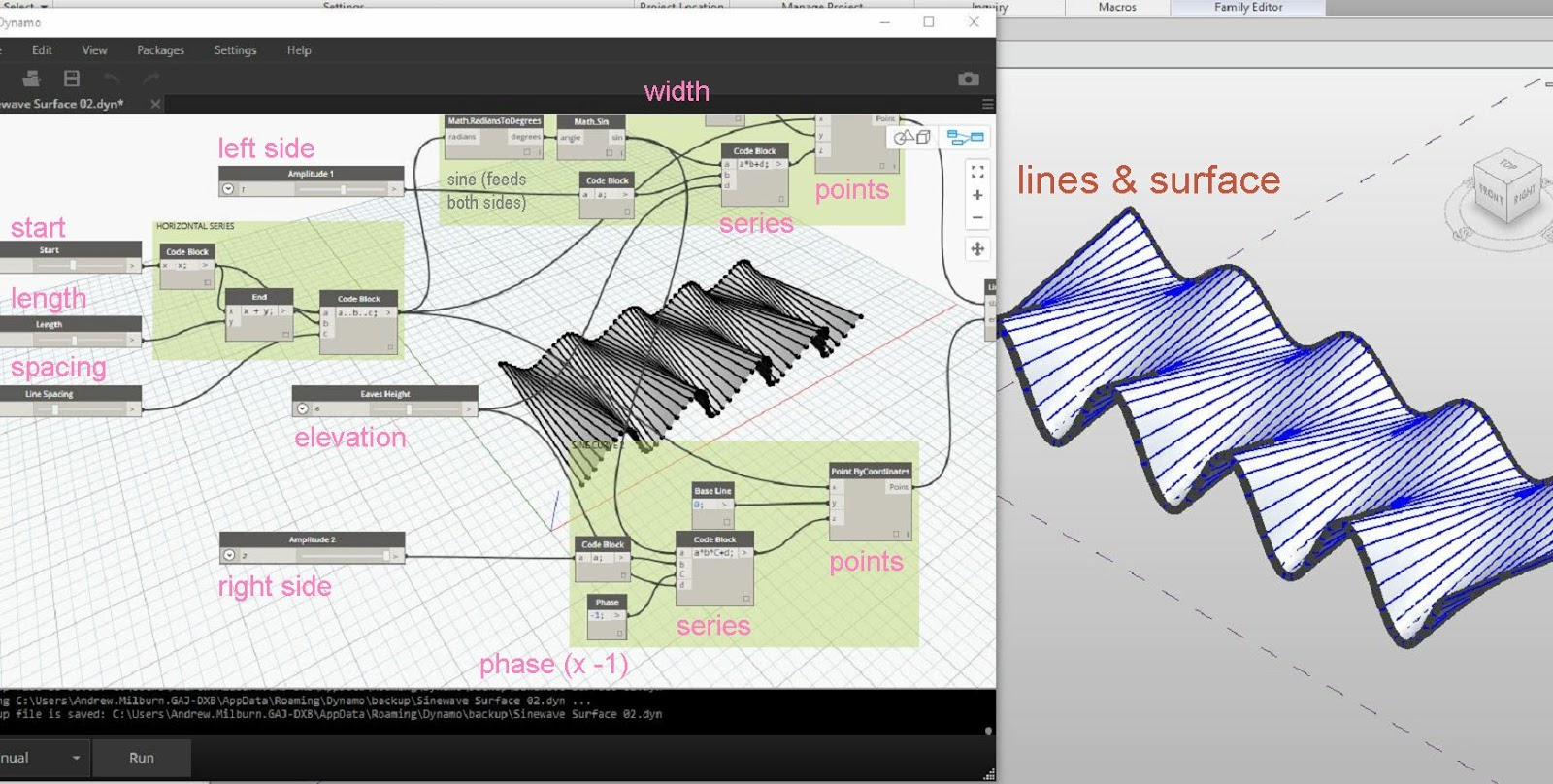 Drawing Lines Revit : Getboundarysegments with linked models autodesk community revit