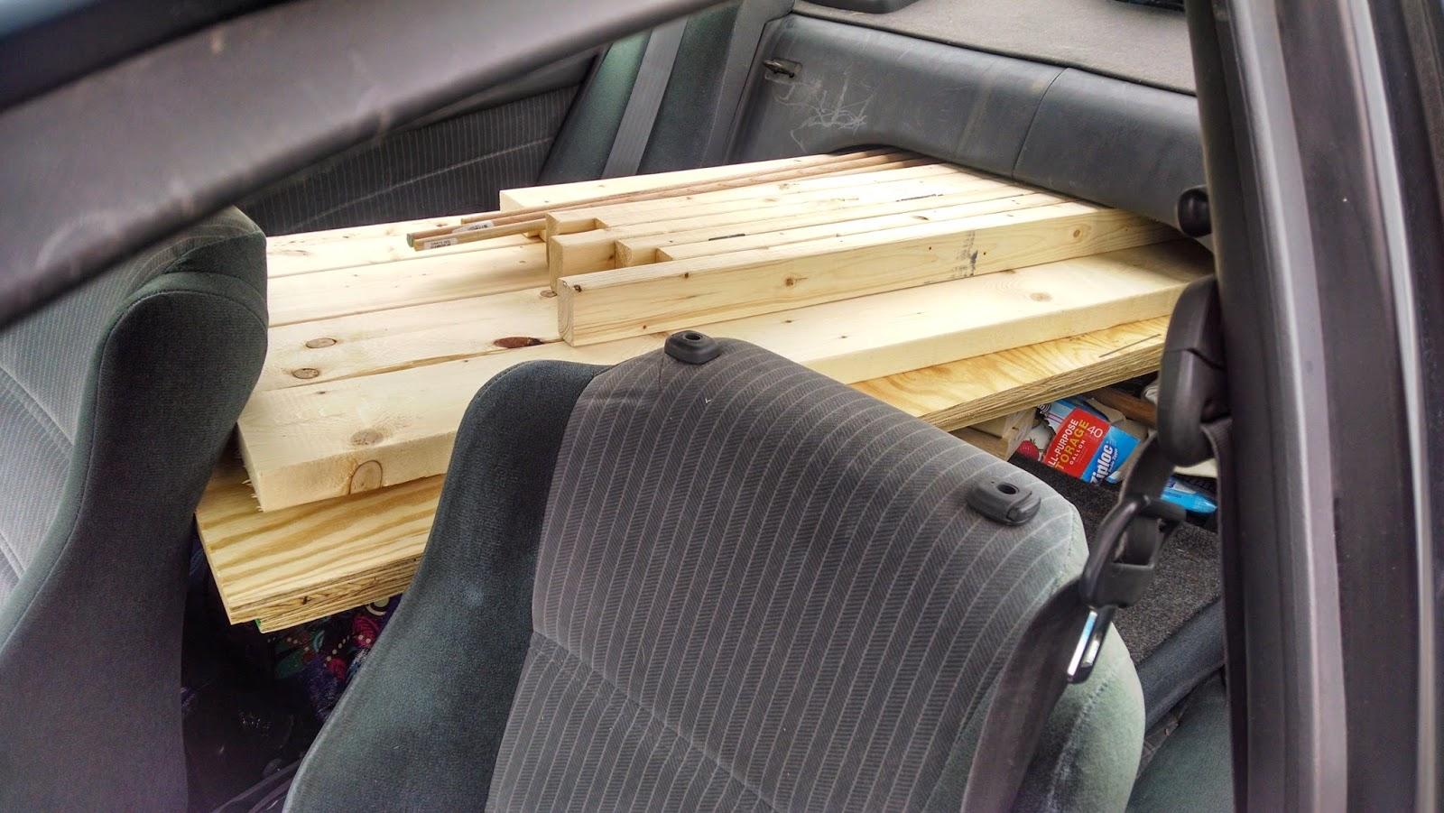 lumber in corolla