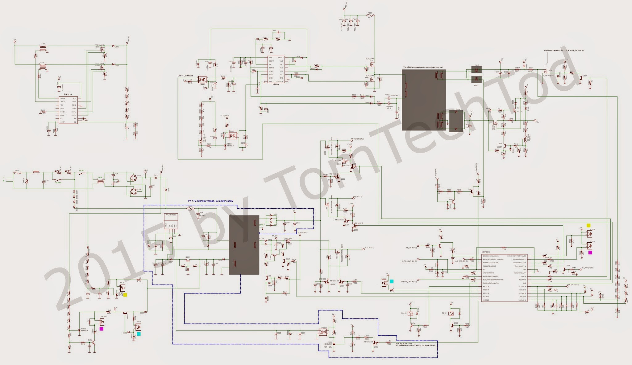 Electronics Repairs Lg Psu Board Eay60968801 Repair Schematics 50pk990 Za 50pk950 Ua 50pk750 50pk590 Ze 50pk550c Ud 50pk550 50pk540 Ue 50pk350 Zb 50px950 And Probably Others The Schematic Is Very Similar