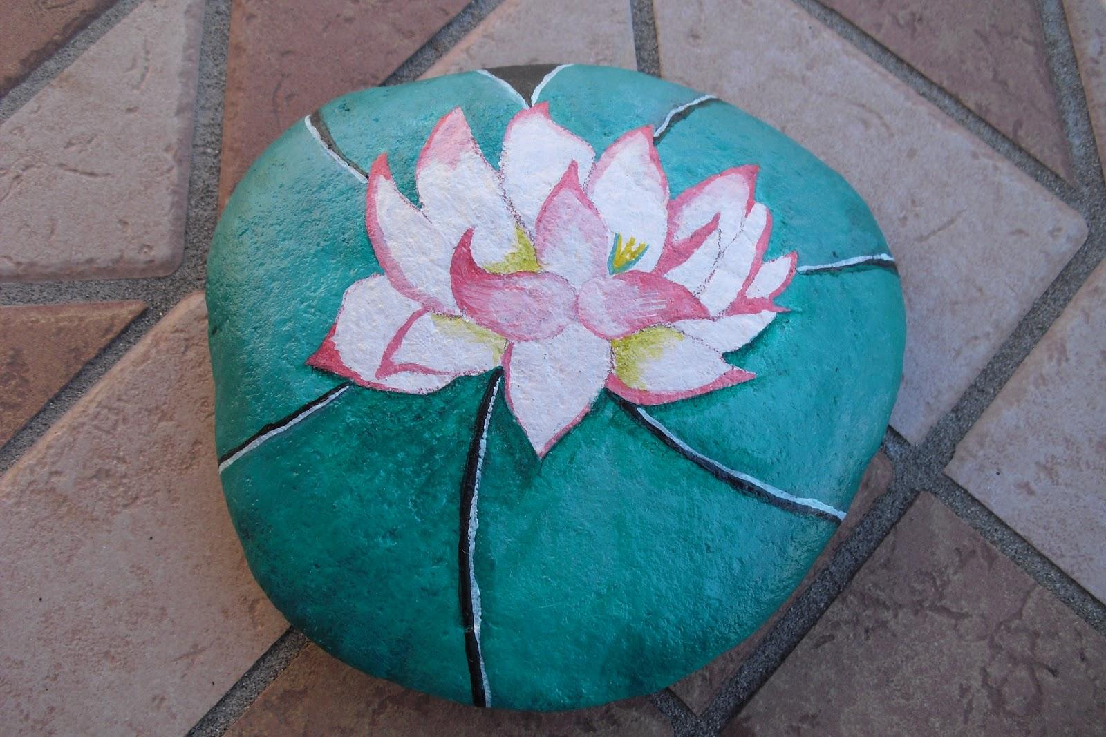 Handmade creare con passione e fantasia: sassi dipinti: coccinella ...