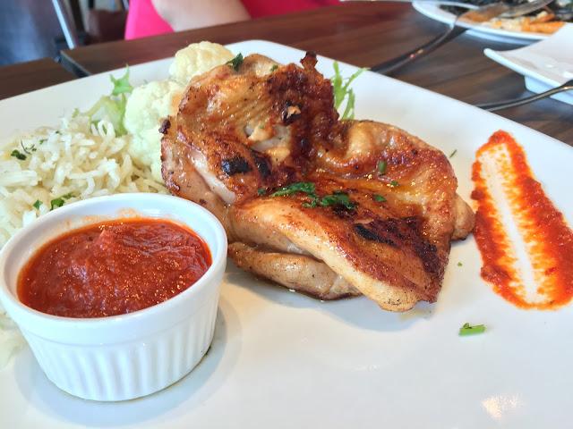 Milagro Spanish Restaurant - Catalan Chicken